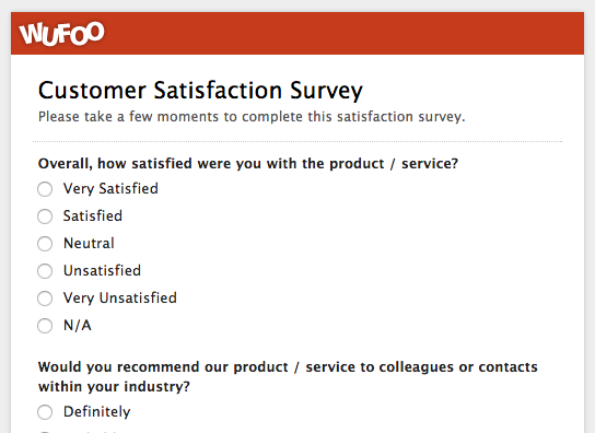 Top 5 Customer Feedback and Satisfaction Form Templates and Why You ...