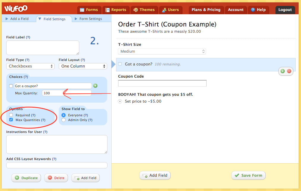 Simple Way to Limit Coupon Code Redemptions with Max Quantities ...
