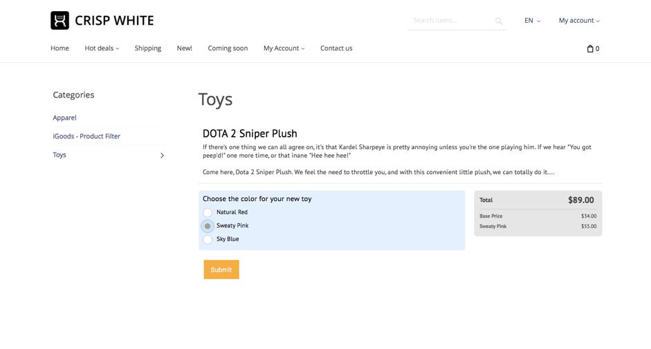 Wufoo Online Order Form
