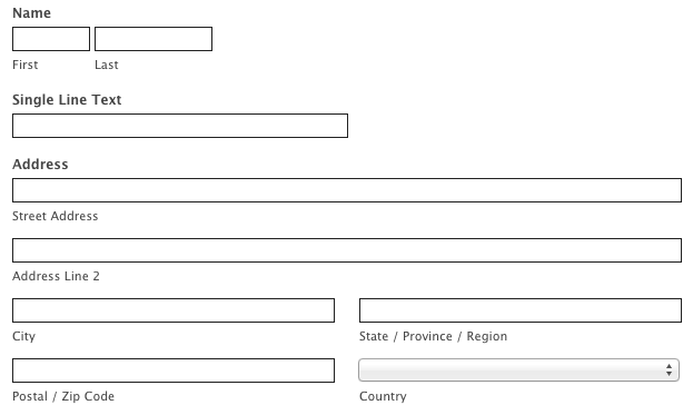 Letu0027s Add The Dropdown Field Into Our Selector, So That The Country Field  Matches The Rest.