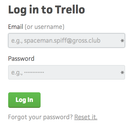 Zapier Trello Account Select