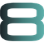 V8 Media logo