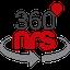 360NRS SMS logo