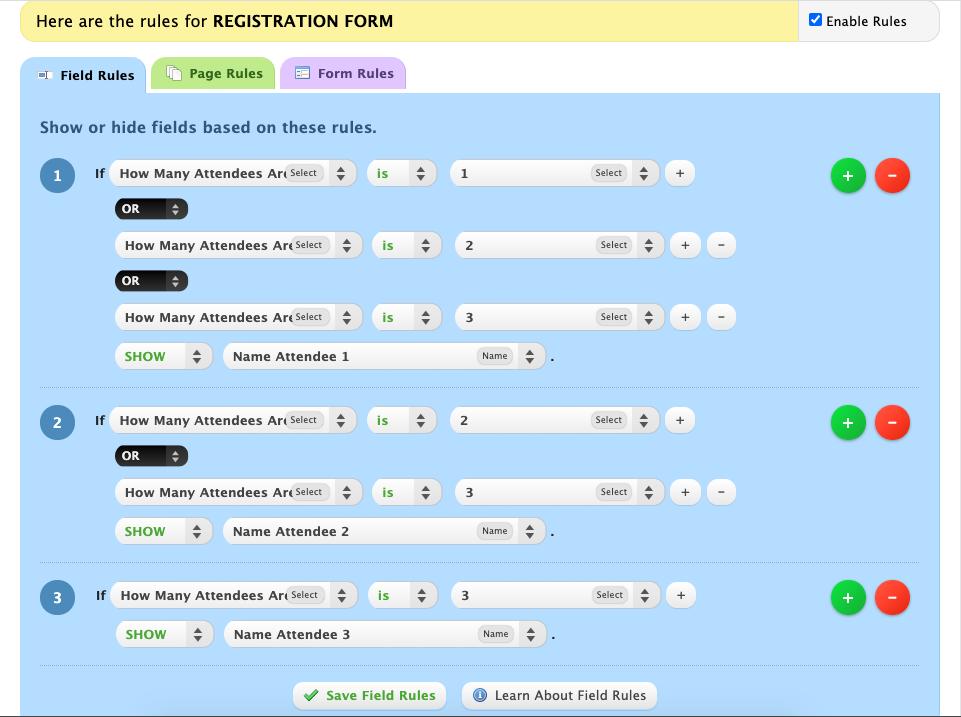 wufoo registration form 4