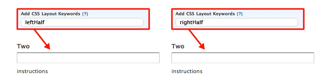 Wufoo CSS keywords